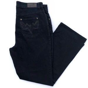 MAC Dark Denim Wide Leg Jeans from Germany D7